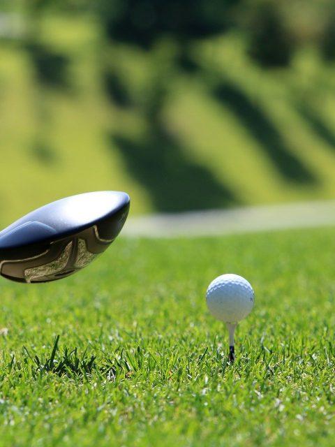 Golfing near Sooke